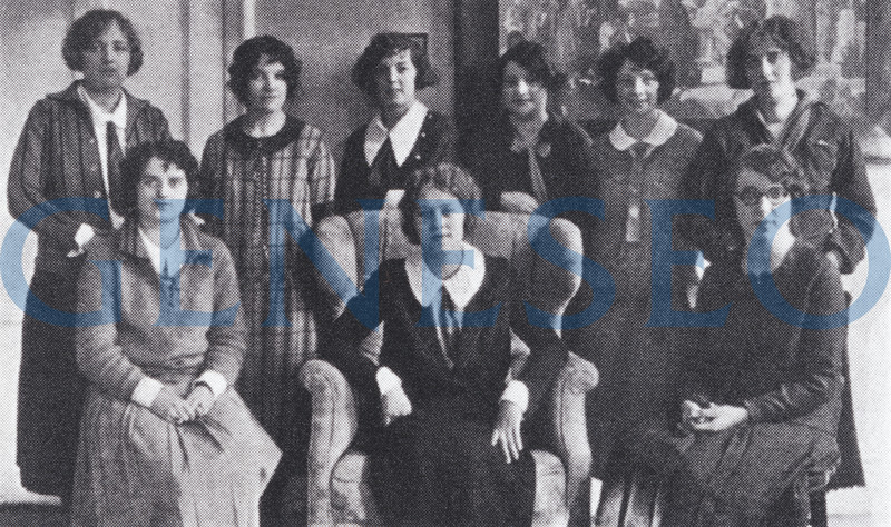 """1924 Student Cooperative Government Organized <br /> The Student Cooperative Government intended """"to train students in self-direction and in meeting individual responsibilities,"""" such as """"driving after dark, study hours, lighting regulations, control over attendance, outside dances."""" Faculty continued to wrestle with the matters of attendance to class and chapel and appropriate penalties for absences."""
