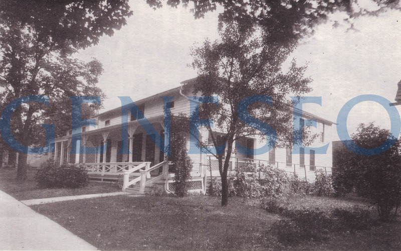 1915 First College Infirmary Opened<br /> Known officially as the Elizabeth Wadsworth Nursing Home, the infirmary was established and funded by Mrs. W. Austin Wadsworth and served the students until the 1950s. The property at 32 North Street became a student rental property.