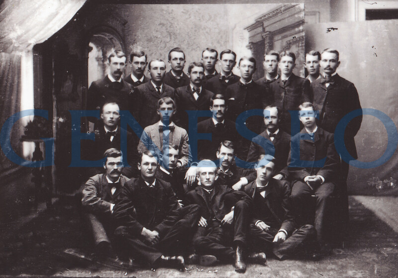 1871 First Greek<br /> The Delphic Society fraternity was founded.