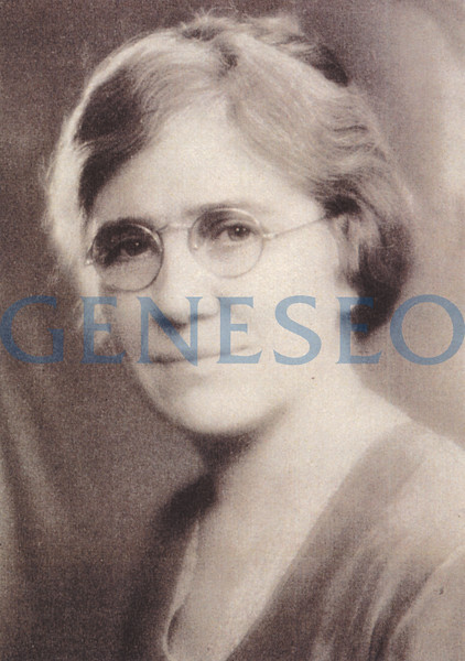 1909  Teacher-Librarians<br /> The teacher-librarian program was added, and the library was expanded. The two-year course prepared students to teach in the upper grades while maintaining their schools' libraries.  Photo: For many years, Geneseo's school of library and information sciences sponsored an annual lecture named for early library education chair Mary C. Richardson. (1933 Normalian)