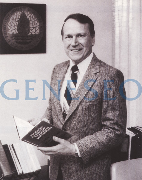 1979 Edward Jakubauskas Named President<br /> President Robert MacVittie retired, and Edward Jakubauskas was named president, serving from 1979 to 1988. Jakubauskas, who held a doctorate in economics from the University of Wisconsin, was formerly the University of Wyoming's vice president of academic affairs. His tenure at Geneseo stressed academic quality, meeting enrollment challenges, and fostering partnerships with local businesses; it also saw approval for the new academic building South Hall and, for budgetary reasons, the closing of the Holcomb Campus School and the School of Library Science.