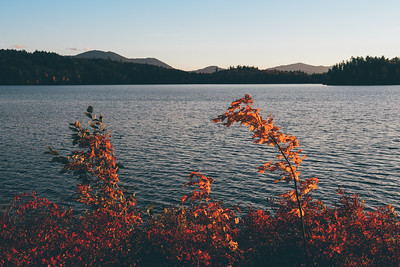 Lower Saranac Sunset