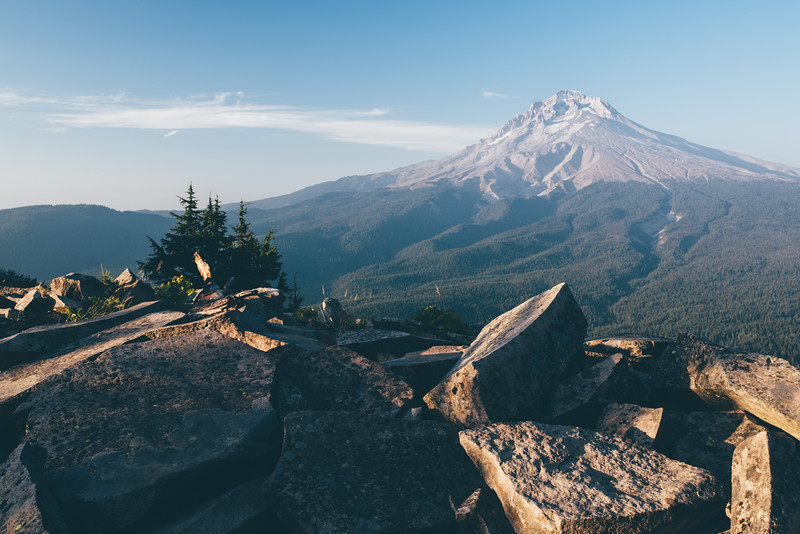 Mt. Hood from TDH