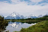 Teton Mountain Range from Oxbow Bend.  Film