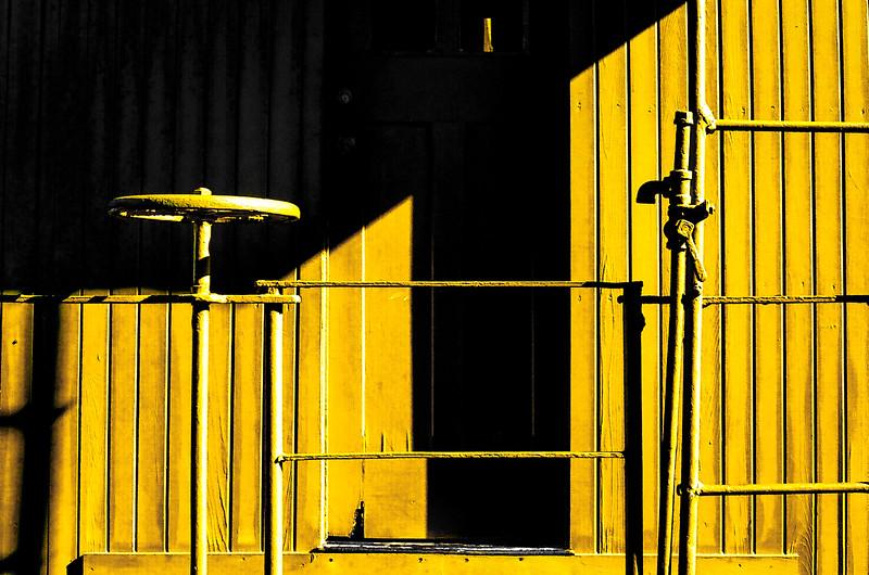 Yellow Caboose