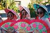 Girls in Korean national costume at Cairns Festival 2018