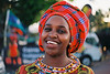 African lady at Cairns Festival 2018