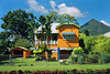 Colourful Queenslander and the Pyramid in Gordonvale