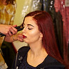 Sarah Louise with Make-up at 'Cops and Monsters' Filming in Glasgow - 19 January 2014
