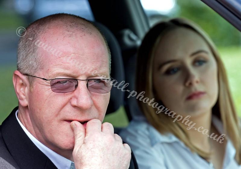 John Gaffney (Driver) - Anna in Background