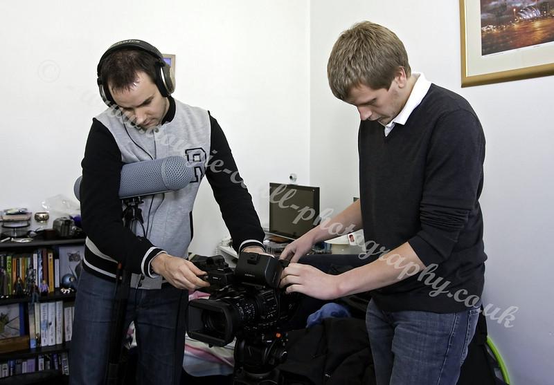 Ross & Matt - Shoot Preparation