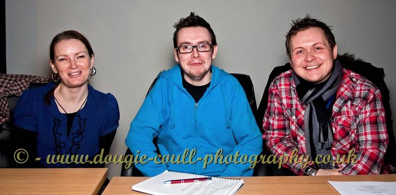 Three Interviewers