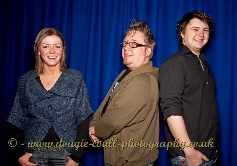 Lindsay, Ash, and Simon