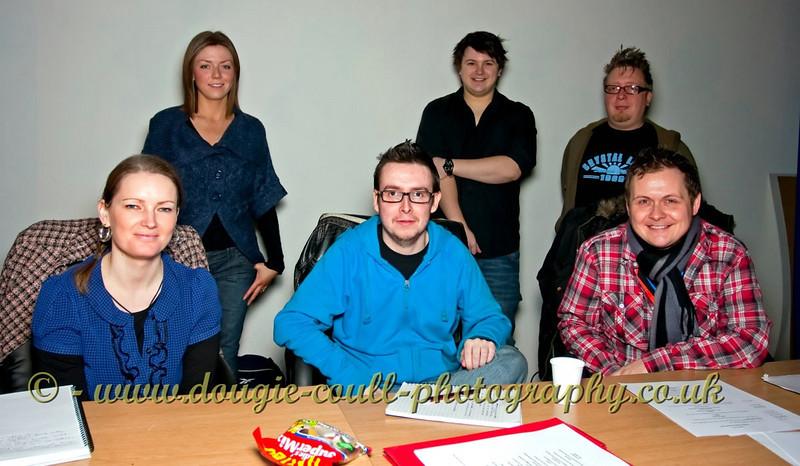 Back Row - Lindsay, Simon, Ash & Front Row - Lindsay, Fraser, Gavin