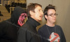 Dominic Keating (Star Trek:Enterprise) with Fraser Coull (Night is Day)