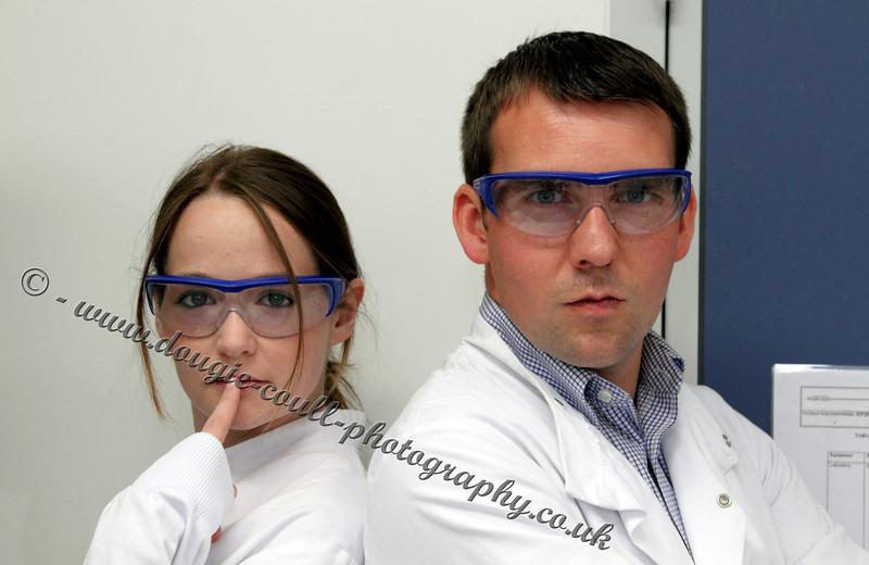 Clare and Steven - Lab Scene