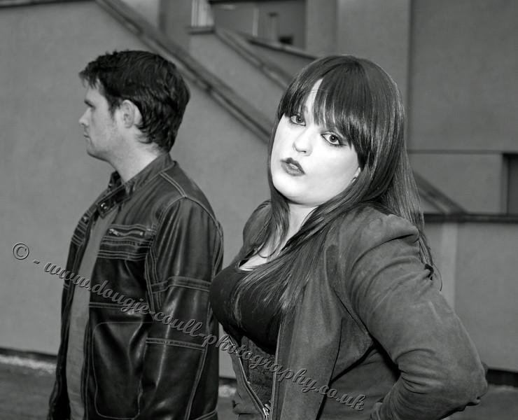 Nicki (Lexi) - Chris (Jason) in Background