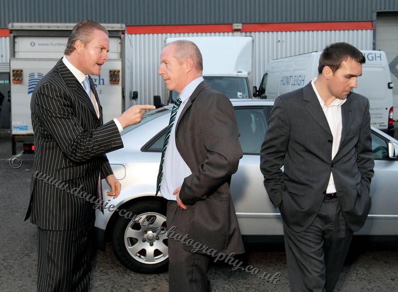 CS Carlisle confronts Sloan as Mullan Walks Away