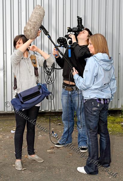 Gillian & Lindsay (Sound) - Simon (Camera)