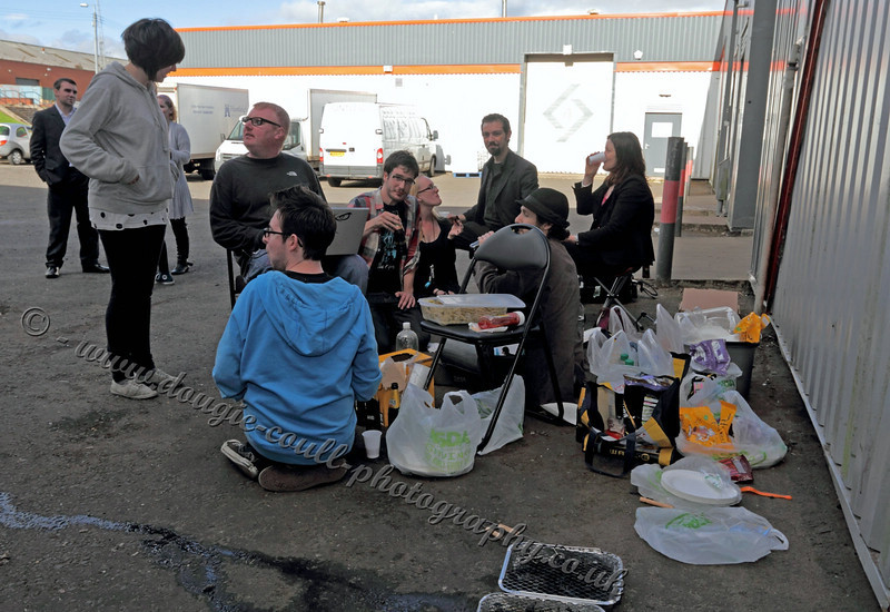 Cast and Crew BBQ