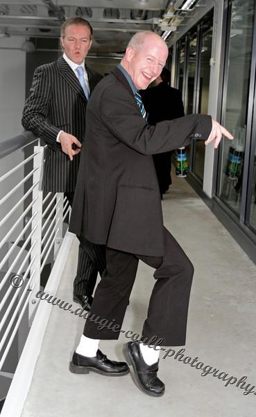 John and Simon Fooling Around