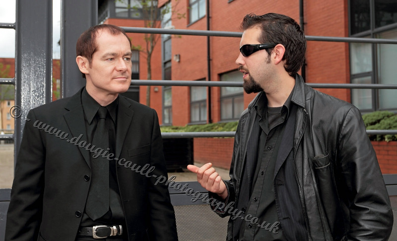Tam (Mr Philips) and Mark (Frank Stone)