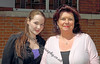 Rebecca Munro (Clare Sheppard) and her Mum (Elaine C Smith)