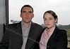 Steven McEwan (DCI Mullan) and  Clare Sheppard (Inspector Rebecca Munro)