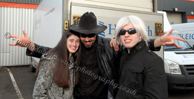 Vharri, Mark, and Leigh