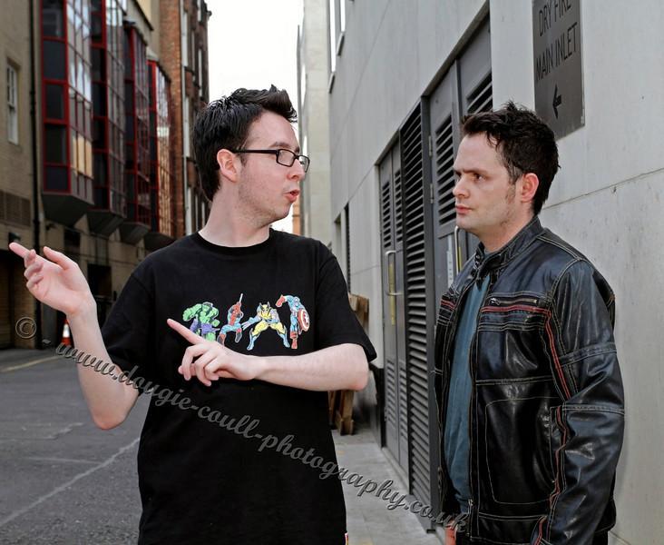 Fraser directs Chris (Jason)