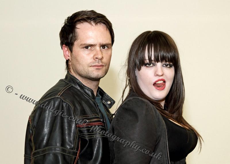 Chris (Jason) and Nicki (Vampire)
