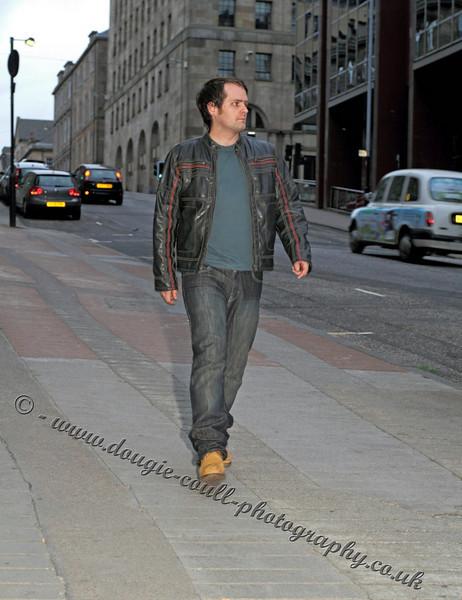 Jason (Chris) Walks the Glasgow Streets