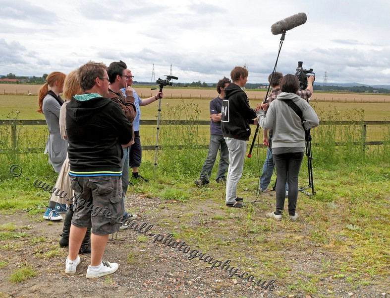 Crew Gets Everywhere - On Location