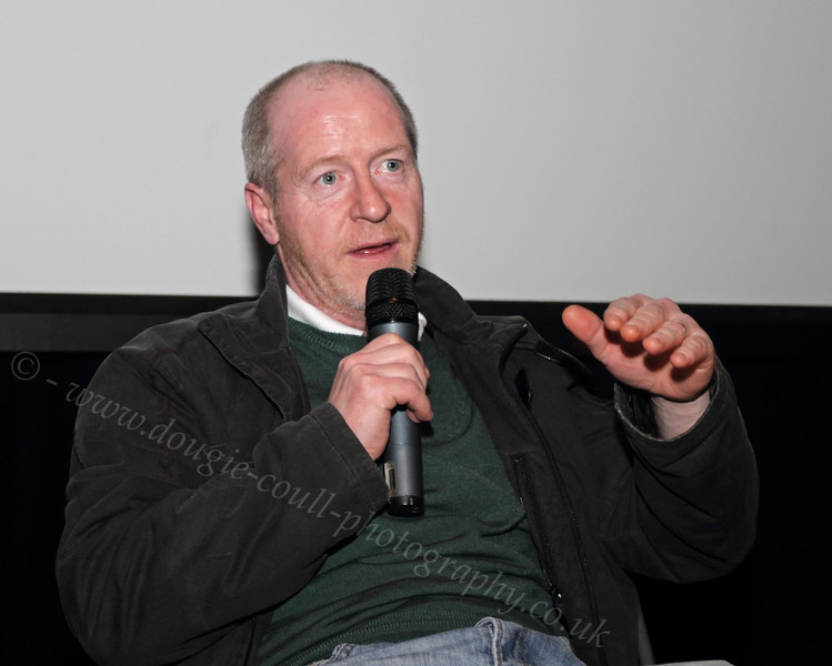 John Gaffney at the Q & A Session of NiD Premiere - 22 February 2012