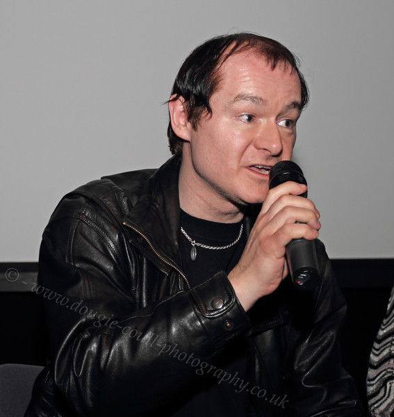 Tam Toye at the Q & A Session of NiD Premiere - 22 February 2012