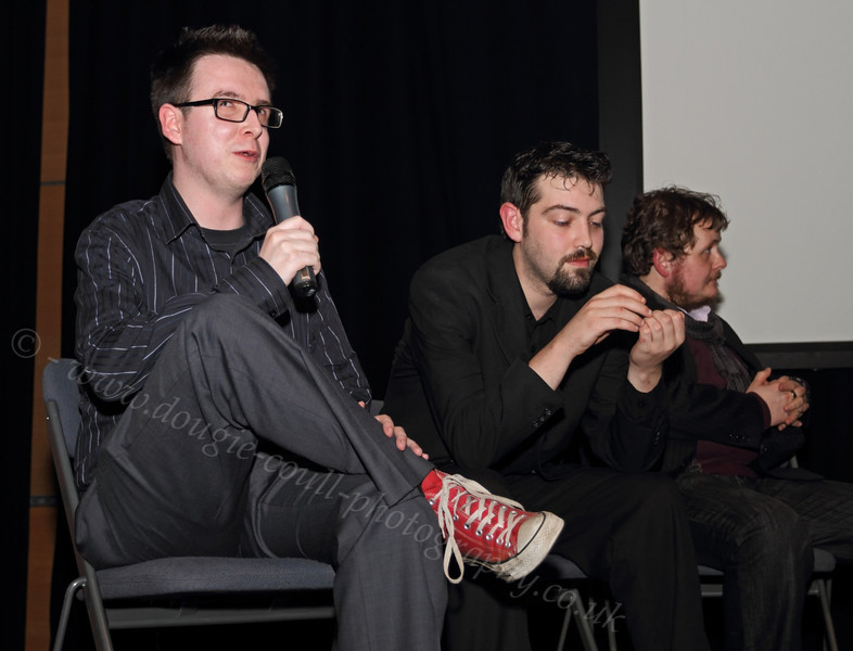 Q & A Session at NiD Premiere - 22 February 2012