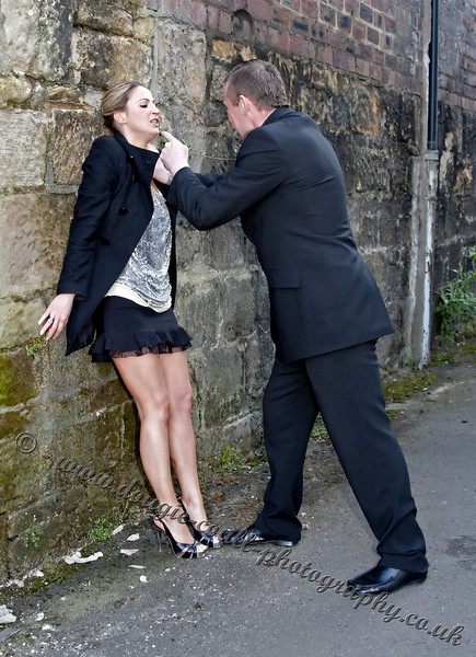 Ilaria (Victim) and Kevin (Attacker)