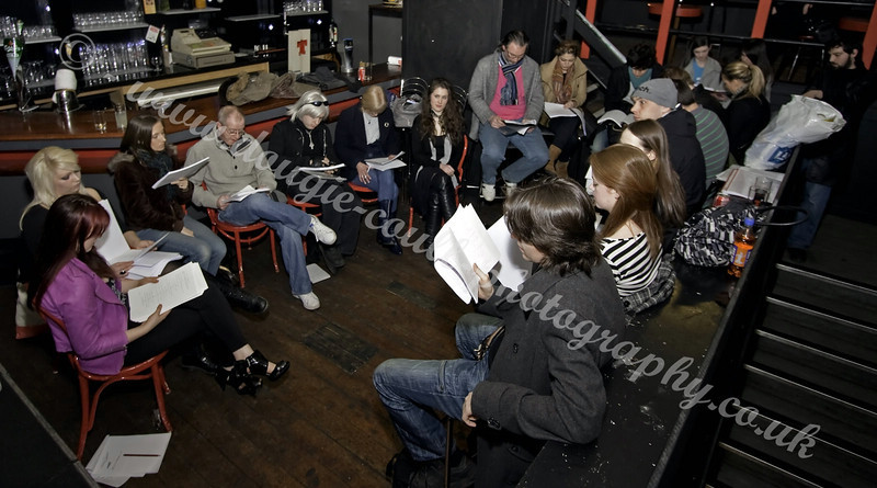 Cast Reading Through the Script