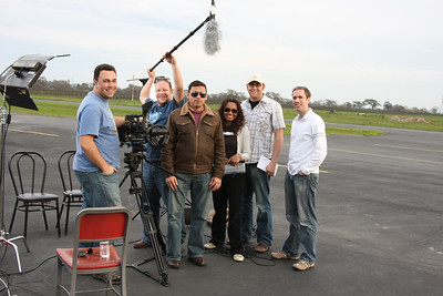 The talent and crew