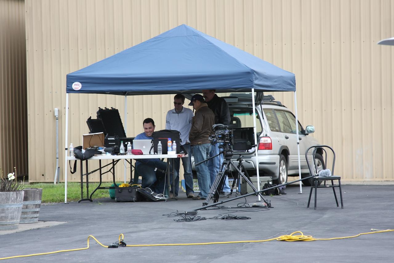 Production tent