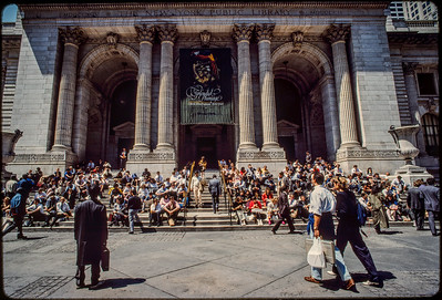1988 NYPL Front Entrance_7730