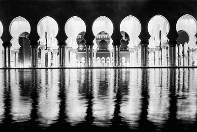 The Grand Mosque at Night