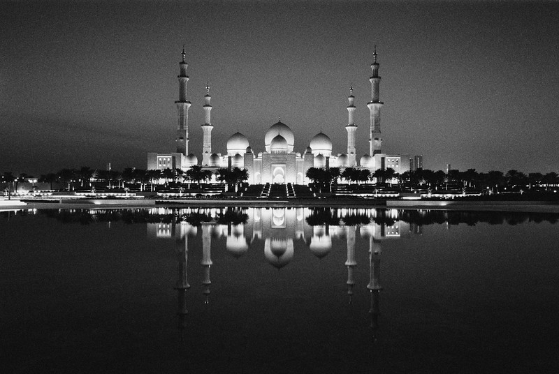 Reflections of the Grand Mosque
