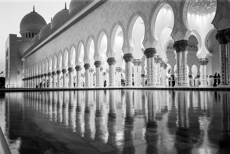 Grand Mosque Reflections