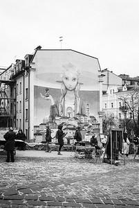 Andriyivskyy Descent Mural