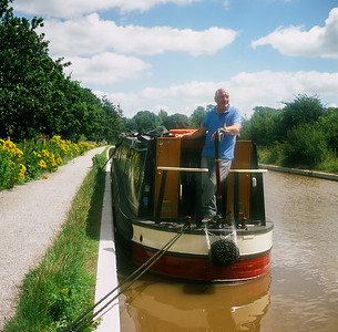 Middlewich Canals on Slide Film