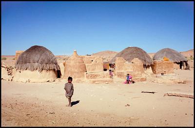 Rajasthani village, India