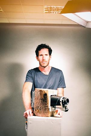 Brendan Barry in his studio