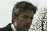 Bruce Wayne (Ben Affleck) at Smallville Cemetery