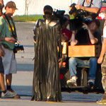 "Description: Antje Traue (Faora) on the set of ""Man of Steel"" <br /> <br /> Media: Photo<br /> <br /> Copyright: Gregory Zonsius<br /> Attribution: To use or link to this media you must include ""Courtesy of <a href=""mailto:greg@zoncom.com/"">Gregory Zonsius</a> 